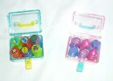 2 Funky Stamp Set with 12 Pre-inked mini Stampers & Organized Locked Case 🎂