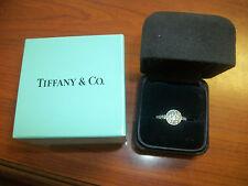 Tiffany & Co. Circlet Diamond Platinum Engagement Ring Size 6-1/4  $4,800