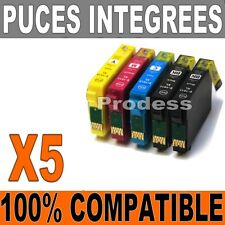 *5 Cartouches compatible Expression Home epson non-oem T1811 T1812 T1813 T1814*