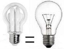 LAMPADA E 27 BASSO CONSUMO 20W 1152 Lm 2700K° CALDA DIMENSIONE WIVA 11072100