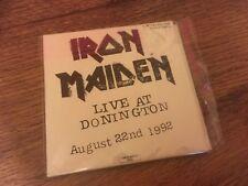 Iron Maiden CD Live At Donington Sanctuary Records Mini LP