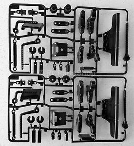 Tamiya (TL-01/FF02/GF-01/WR-02/WR-02G) C Parts x2 (Suspension Arm) 50737