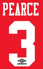 Nottingham Forest Pearce Nameset Shirt Soccer Number Letter Heat Football 1994