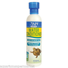 API Turtle Water Conditioner 118ml removes chlorine & chloramines Aussie Seller
