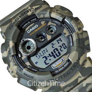 -NEW- Casio Camo G-Shock Watch GD120CM-5