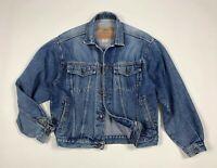 Casucci jacket jeans uomo usato S denim giacca giubbotto giubbino vintage T6035