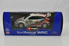 Bburago Ford Focus WRC Race car 1999 Martini #7 1:24 Scale