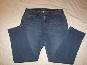 Women's Style & Co. Denim Stretch Jeans - 10 - Ex-Boyfriend - Curvy Ankle