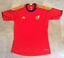 L'espagne home football shirt 2009 camiseta espana taille 42/44 l très bon état
