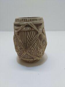Plantation Rum Advertising Collectable Brown Tiki-Mug Ceramic Cocktail Mug