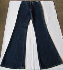 Vtg  70s Levis 684 Bell Bottom Jeans Flare Disco Boho Hippie Orange Tab 30x36