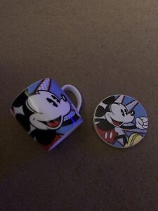 Mickey Mouse Comic Mug & Coaster Set