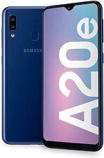 NUOVO Samsung Galaxy A20e Blu 32GB Dual Sim Android 4G LTE Smartphone Sbloccato