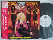 PROMO WHITE LABEL / TWISTED SISTER UNDER THE BLADE / WITH OBI