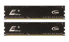 2GB Team Elite Plus Black DDR RAM PC3200 (3-4-4-8) Dual Channel kit for Desktops