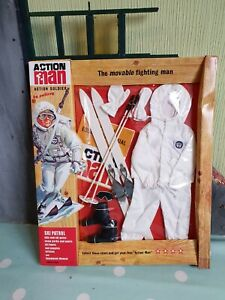 VINTAGE ACTION MAN 40th ADVENTURER SKI PATROL Outfit Unused Boxed