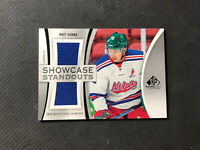 2019-20 SP GAME USED MATT DUMBA SHOWCASE STANDOUTS DUAL JERSEY #SS-MD