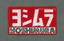 Yoshimura toppa ricamata termoadesivo iron-on patch Aufnäher
