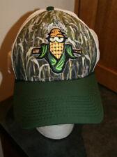 Normal CornBelters Camo Mesh Snapback Hat Cap Illinois Frontier League Baseball