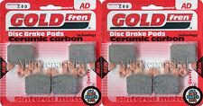 GOLDFREN Delantero Pastillas De Freno (2 xsets) para: Suzuki Gsxr 1000 (K3) GSXR1000 (2003)