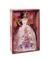 2020 Barbie Dia De Los Muertos Day of The Dead DOTD 2 Doll White In Hand New!