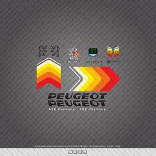 0389 Peugeot HLE Premiere Fahrrad Rahmen Aufkleber-Abziehbilder-Transfers