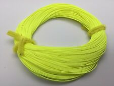 "Premier Quality WF5 TROUT Floating Fly Fishing Line ""Fluorescent Yellow"" UK"