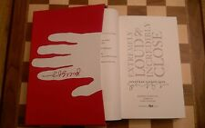 Extremely Loud and Incredibly Close Jonathan Safran Foer SIGNED LIMITED EDITION