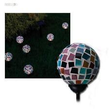 6er Set Kugelleuchte Solar LED Leuchte GALA Glas Solarleuchte Gartenleuchte DEKO