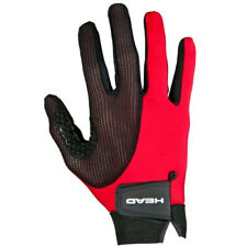 (Large, Left Hand) - HEAD Leather Racquetball Glove - Web Extra Grip