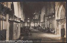 Lincolnshire Postcard - Grantham Church Chancel    RT1272