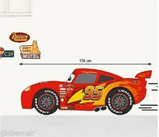 Stickers muraux chambre enfant Disney Cars Flash 3 planches