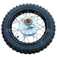 "10"" Rear Wheel Rim Tire Assembly for 50cc 70cc 110cc Dirt Bikes"
