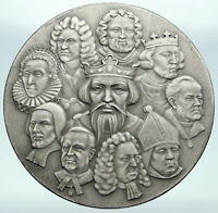 1965 UK United Kingdom WESTMINSTER ABBEY 900th Anniver HUGE Silver Medal i87362