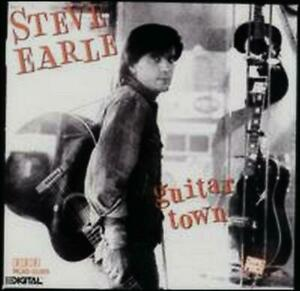 Steve Earle : Guitar Town (CD 1992) *VG/EX COND* BARGAIN!! FREE! UK 24-HR POST!!