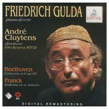 Beethoven-Concerto N.4/Franck-Sinfonia In Re Min.:F.Gulda,A.Cluytens,Orch.RTSI