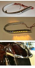 Goldwing GL1800 Chrome Front Fender Trim with LED's 45-1244  / 2001-2014