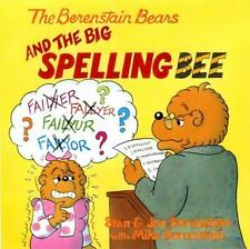 THE BERENSTAIN BEARS AND THE BIG SPELLING BEE - Paperback Book (S-13)