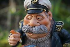 815.9434  FIGURINE METIER CARICATURE CAPITAINE  BATEAU  COLLECTION MARINE  PROMO