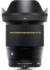 Sigma 16mm f1.4 DC DN for Micro Four Thirds 4/3 Panasonic Olympus (UK Stock) NEW