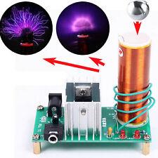 Mini Tesla Coil Plasma Speaker DIY Electronic Kit 15V-24V Music