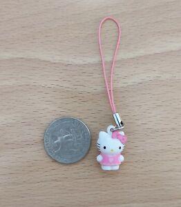 BN Hello Kitty 3D charm phone strap lariat ornament - pink