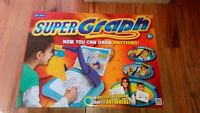 JOHN ADAMS SUPER GRAPH COMPLETE LOVELY CONDITION PORTABLE DRAW ANYTHING BOXED