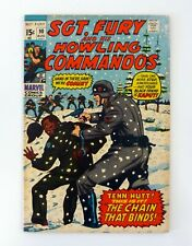 SGT. FURY AND HIS HOWLING COMMANDOS #90 Marvel The Chain That Binds VF- 1971
