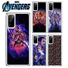 Marvel Los Vengadores Superhéroe caso para Samsung Galaxy A10 A40 S10 S20 A41 A51 A21S