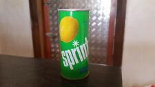 vintage sprint lemon sour 8fl oz  soft drink tin can