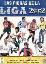 Las Fichas de la Liga 2002 Mundicromo. Colección completa.