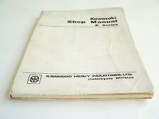 Kawasaki Shop Manual Z Series Motorcycle Manual (Original--Published in 1974)