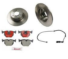 BMW E53 X5 00-06 V8 4.4L Brembo Rear Brake Kit with Rotors Pads and Sensor