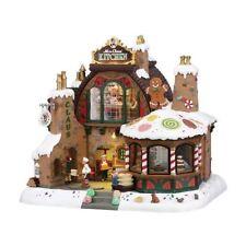 Fabbrica dei dolci Casetta illuminata Presepe Lemax- Mrs Claus Kitchen 85314